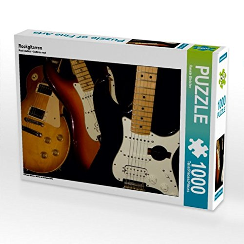 Richie Sambora-gitarre (Rockgitarren 1000 Teile Puzzle quer (CALVENDO Kunst))