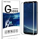 Galaxy S8 Protection Ecran, Pomisty Film Protection en Verre Trempé 9H Dureté Anti-Scratch Protecteur pour Samsung Galaxy S8