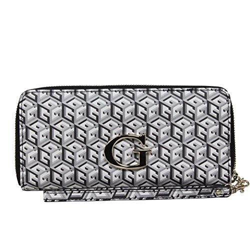 GUESS G Cube Large Zip Around Black