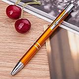 STOBOK 10pcs Ballpoint Pens Retractable Roller Ball Pens for School Business Office (Mixed Color)