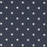 Vinylla Star algodón recubierto de vinilo fácil de limpiar mantel de hule, 140 x 140 cm
