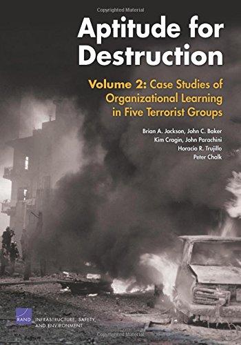 Aptitude for Destruction, Volume 2: Case Studies of Organizational Learning in Five Terrorist Groups: Case Studies of Organizational Learning in Five Terrorist Groups v. 2