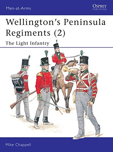 Wellington's Peninsula Regiments (2): The Light Infantry (Men-at-Arms, Band 400) - Armee Band