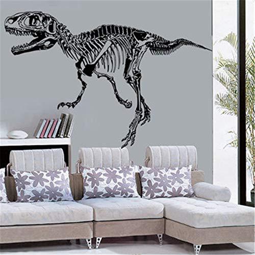 YuYa Wandaufkleber Dinosaurier Kreatives ZuhauseWandaufkleberSchlafzimmer Wohnzimmer AbnehmbareDekorpapier 61x43 cm
