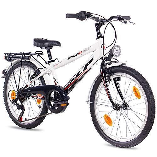 "KCP 20\"" KINDERFAHRRAD City Bike CITYRAD WILD CAT 6G Shimano StVZO ws - 50,8 cm (20 Zoll)"