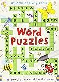 Word Puzzles (Usborne Puzzle Cards)
