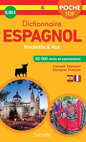 Dictionnaire Poche Top Hachette Vox - Bilingue Espagnol