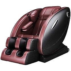 LFNGGE Siege Massant Relaxant Electrique Relax Salon Fauteuil de Massage 8D - Relax Professionnel - Gravité zéro, Système de Chauffage