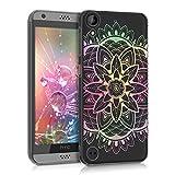 kwmobile HTC Desire 530 Hülle - Handyhülle für HTC Desire 530 - Handy Case in Mehrfarbig Pink Transparent