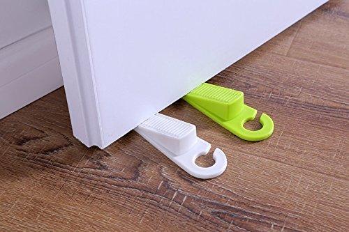 UChic 2 Teile / satz Kreative Folien Typ Türstopper Childern Kits Silikon Sicherheit Tor Karte Splines Perspektive Hing Türstopper (Farbe nach dem Zufall) (Durch Die Wand Hund Tür)