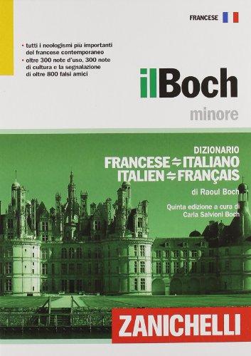Il Boch minore. Dizionario francese-italiano, italiano-francese.