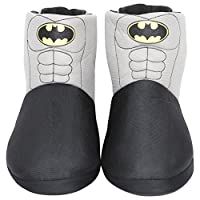 Mens/Boys Batman Novelty Slipper Boots Kids Shoe Sizes 1-6 Adults Sizes 7-12