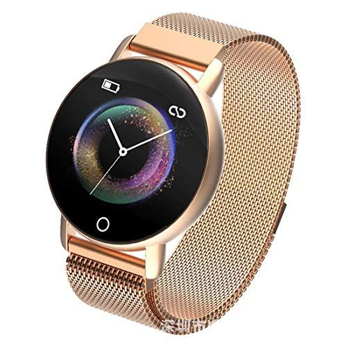 DUMXY Farbdisplay Smart Wear Armband, Herzfrequenzmesser Schrittzähler Digitaluhren, Herzfrequenzmesser Schrittzähler Digitaluhren, Für Android Und IOS