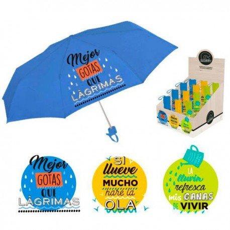 Paraguas plegable Baggy 1 unidad