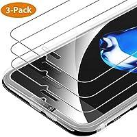 Syncwire iPhone 8 / 7 / 6s / 6 Panzerglas [3 Stück] - HD Panzerglasfolie 9H Härte 2.5D Displayschutzfolie für Apple iPhone 8 / 7 / 6s / 6 [Bruchsicher, Blasenfrei, 3D-Touch, mit Hülle Verwendbar, Leicht Anzubringen]