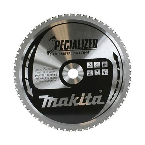 Präzise gefertigte Makita Specialized Sägeblatt für Metall (305 mm x 60 Zähne, 25,4 mm Durchmesser (100 Stück) - 1] w/3yr rescu3 ® Garantie