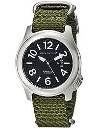 St Martin'S Griffin 1M-SP74B7G - Reloj para hombres, correa de nailon color verde