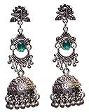 #8: Aamoddhini Ethnic Danglers Jhumki Earrings for Women and Girls Partywear Beautiful Hangings LE-9-Gvj