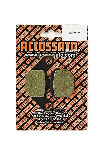Accossato Pastiglia freno AGPA82OR, DERBI > DXR 200 QUAD (FRONT DISC), 200 (2004)