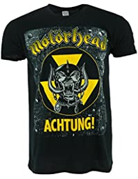 Motorhead Achtung! Black T-shirt Official Licensed Music