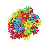 Magideal 50pcs Mixed Foam Flower Shapes ...