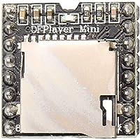 HALJIA DFPlayer - Mini reproductor de mp3DAC de 24bits, salida directamente, conectar a altavoces, soporta tarjeta TF, para Arduino Raspberry Pi