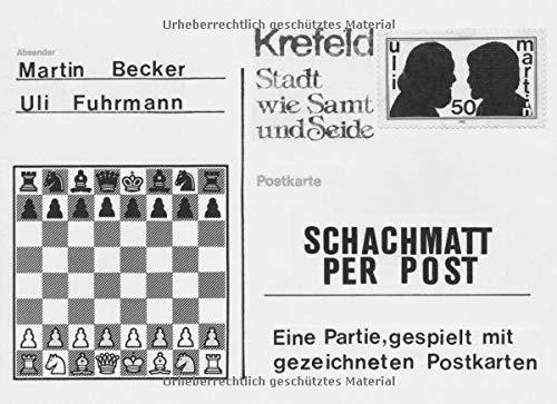 Schachmatt per Post: Eine Partie, gespielt mit gezeichneten Postkarten