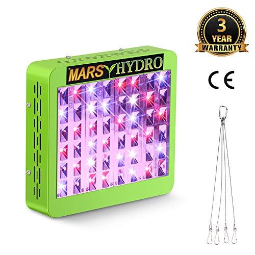 MARS HYDRO Reflektor 240W LED Grow Lampe Pflanzenlampe Wachstumslampe Vollspektrum für Zimmerpflanzen Gemüse und Blumen (Reflektor 240W)