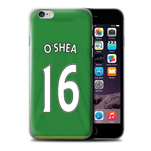 Offiziell Sunderland AFC Hülle / Case für Apple iPhone 6+/Plus 5.5 / Pack 24pcs Muster / SAFC Trikot Away 15/16 Kollektion O'Shea