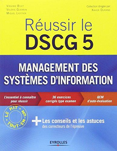 Réussir le Dscg 5 : Management des systèmes d'information
