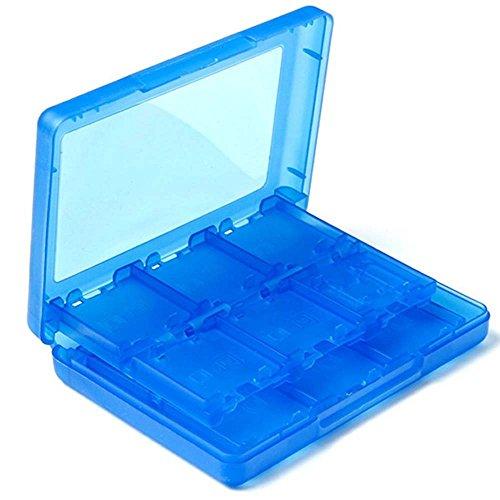 enboxen Spielkarte SD TF Stift Box Case Tasche Etui für Nintendo 3DS/ XL, 2DS, DSi XL --Blau (Spielkarte Spiele)