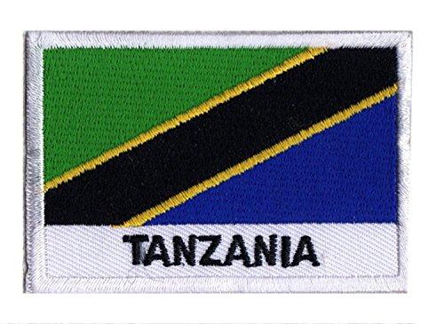 Patch Flagge Tansania - Tansania Patch
