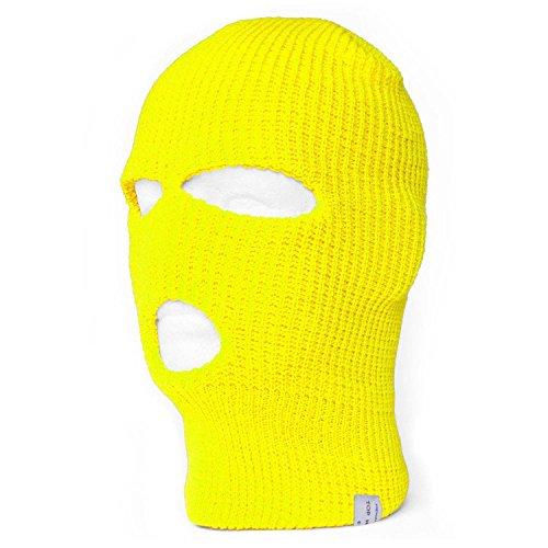 TopHeadwear -  Passamontagna - Uomo Giallo fluo giallo