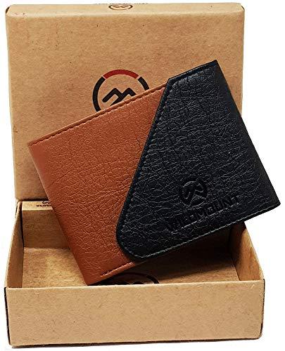 wildmount Tan & Black Men's Wallet