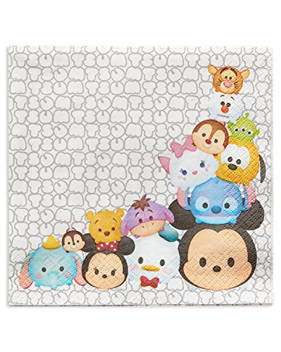 16 Pack Disney Tsum Tsum Lunch Napkins Birthday Party Supplies