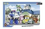 Nathan - 86014 - Puzzle Frame - Il Team Di Robocar Poli - 15 Pezzi immagine