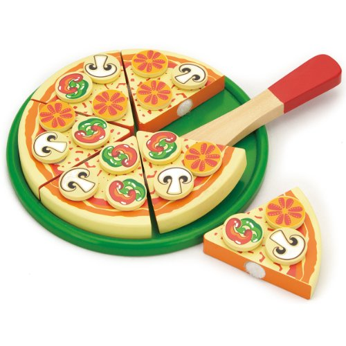 Viga Wooden Take Apart Pizza