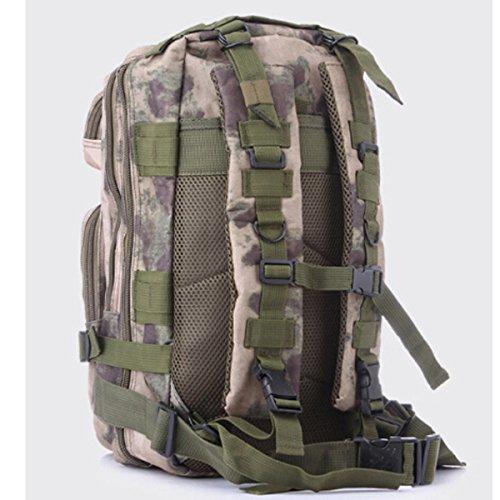 Outdoor Camouflage Rucksack Army Packs Bergsteigen Tasche Freizeit Rucksack,R N
