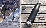Trinkflasche Edelstahl Wasserflasche Doppelwandig Vakuum Isoliert Edelstahl Sport Trinkflaschen LONTEK