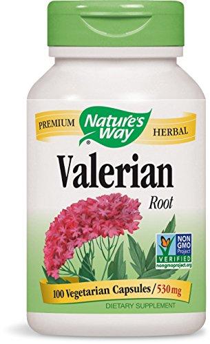 Nature's Way Complément alimentaire à base de racine de valériane - 100 capsules (530 mg)
