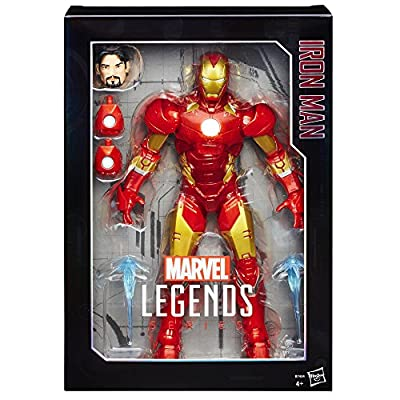 The Avengers Marvel Legends Series Iron Man, 12-Inch