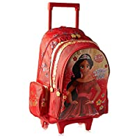 Disney Elena Of Avalor School Trolley Bag For Girls - Red