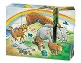 Goki 57812 - Würfelpuzzle - Arche Noah
