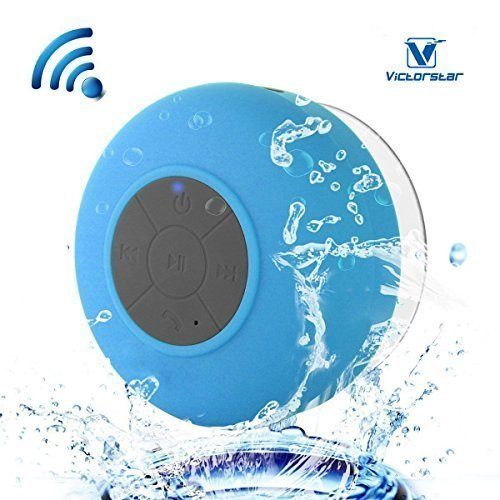 Resistente al agua Bluetooth 3.0 Ducha Altavoz, Altavoz Portátil de Manos Libres...