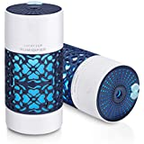 RYLAN Magic Cup Cool Mist Humidifiers Essential Oil Diffuser Aroma Air Humidifier with Led Night Light Colorful Change for Car, Office, Babies, humidifiers for home, air humidifier for room (Blue)