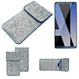 K-S-Trade® Protective Felt Case For Huawei Mate 10 Pro