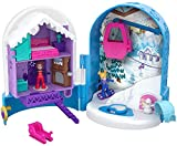 Polly Pocket FRY37 Pocket World Snow Secret Compact Play Set, Multi-Colour