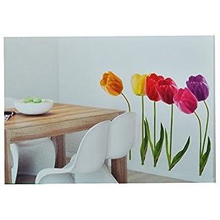 Unbekannt XXL Wandsticker / Sticker   Tulpen Mit Stengel   Frühlingsblumen  Frühling   Selbstklebend Für Wohnzimmer