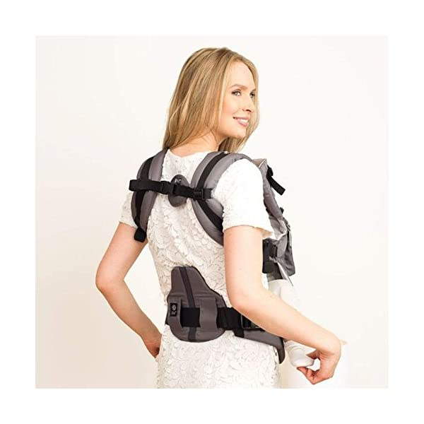LÍLLÉbaby  Complete Embossed 6-in-1 Baby Carrier, Mystique Grey Lillebaby 6 carrying positions - foetal, infant inward, outward, toddler inward, hip, back Suitable from 3.2- 20kg (birth to approx. 4 years old Luxurious, breathable microfiber 8