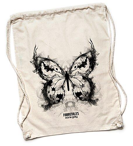 Kane Grey - Butterfly - Turnbeutel - Natur (Butterfly Hobo Bag)